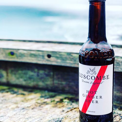 Luscombe ginger beer Gingerbeer Luscombe Focus On Foreground Bottle Communication Container Close-up Day Text Drink Glass - Material Food And Drink Outdoors Sea Sign Refreshment No People