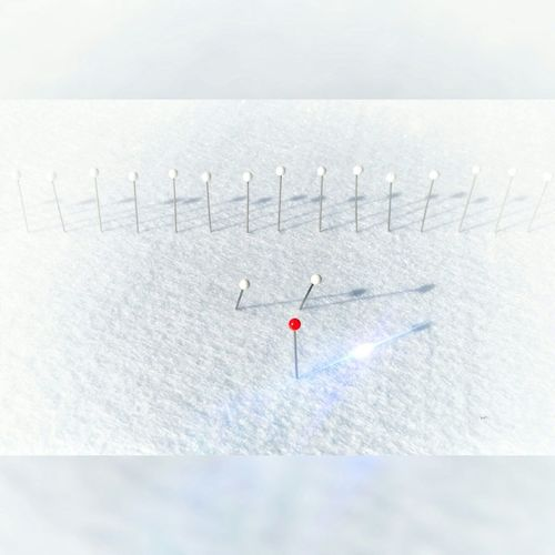 """""""Needless to say : Santa, briefing the angels"""" Adventure AntiM Close-up Cold Temperature Depth Of Field Detail Focus On Foreground Journey Metal Needles Needless To Say.. No People Plank Recreational Pursuit RISK Rusty Selective Focus Single Object Surface Level Textured  To Be Continued... Wall"""