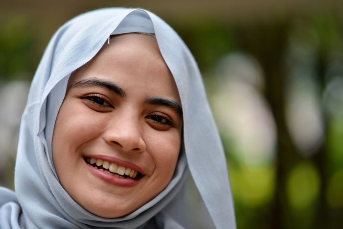 muslim world Buriram Muslim Culture Muslim Woman Adult Adults Only Cheerful Childhood Close-up Focus On Foreground Happiness Headshot Hood - Clothing Human Body Part Islam Looking At Camera Muslim❤️ One Person One Young Woman Only Outdoors People Portrait Real People Smiling Toothy Smile Young Adult Young Women