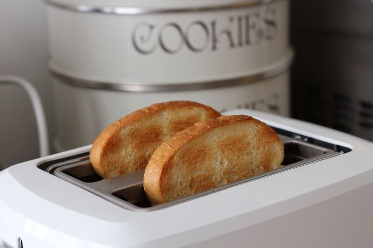 Food Breakfast Morning Bread Toaster Ready-to-eat