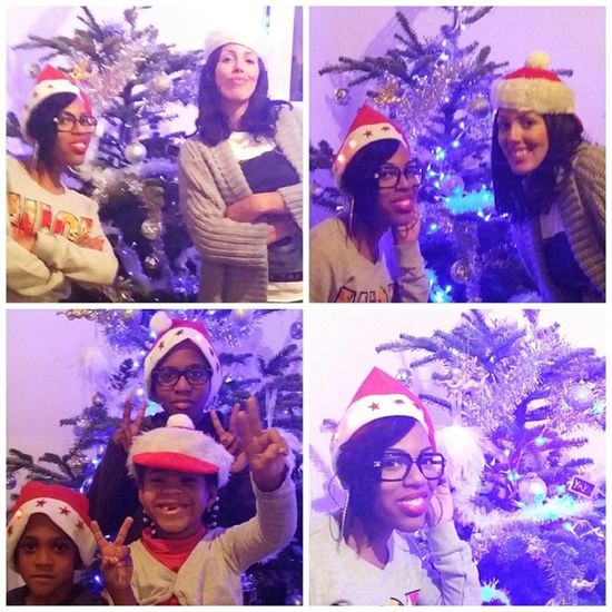 Xmas Part 👆 with my other family 😘😘😘