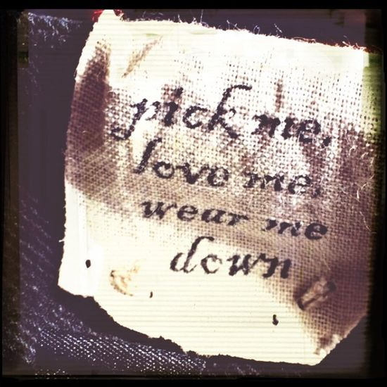 Drykorn Jeans pick me, love me - wear me down <3 Favorite Brand