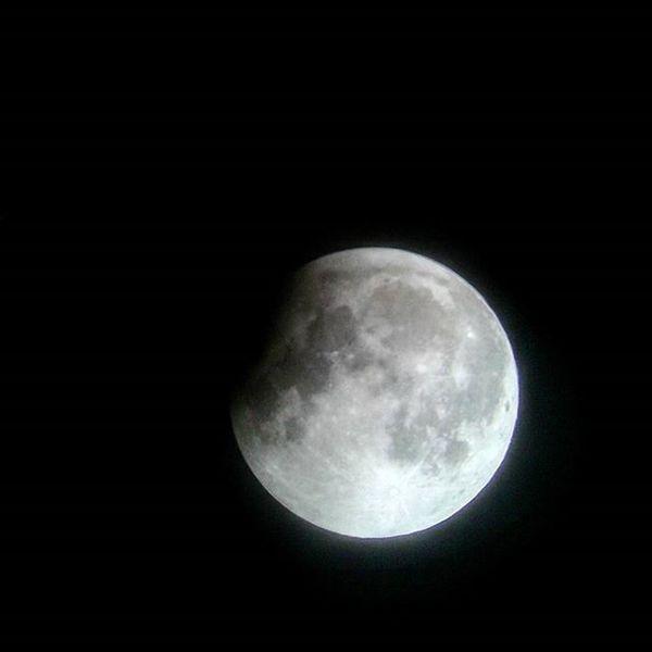 Partial-Post-Blood-Super-Moon Partialpostbloodsupermoon Bloodmoon Supermoon Moon NASA Astronomy Cameraphonephoto Lunar Eclipse Lunareclipse Blood Super