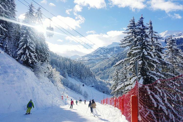Skiing ❄ Mountains Les3vallées Meribel
