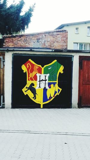 Harrypotterexhibition Gryffindor & Slytherin Hufflepuff Ravenclaw Haha ^^  Smile:) What Makes You Strong?