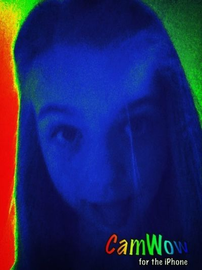 omg me wow never new blue hair would look cool ha ha lol x