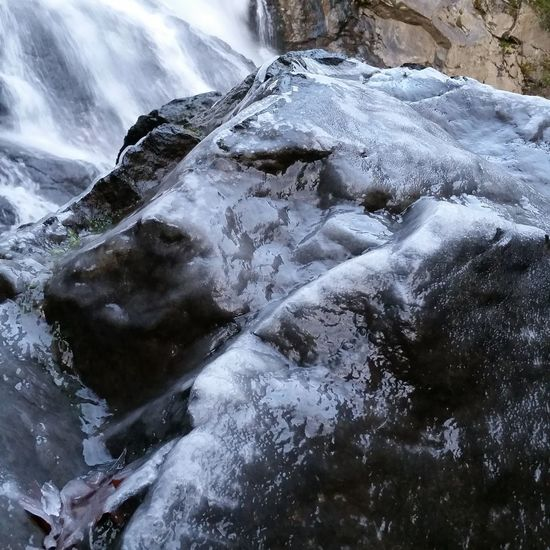 Water No People Cold Temperature Day Close-up Outdoors Nature Waterfall Cold Pacific Northwest  Power In Nature Rock - Object Ice Boulder
