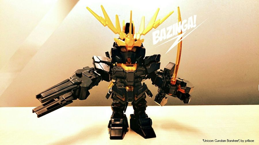 Unicorn Gundam Banshee by P4lsoe
