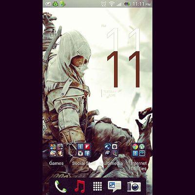 Make a wish. Assassinscreed3 HTCOneX ElevenElevenPM 11 :11 InstaNights