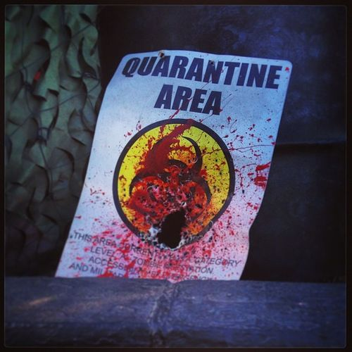 Zombie Quarantine Horror Zombieapocalypsestore lasvegas