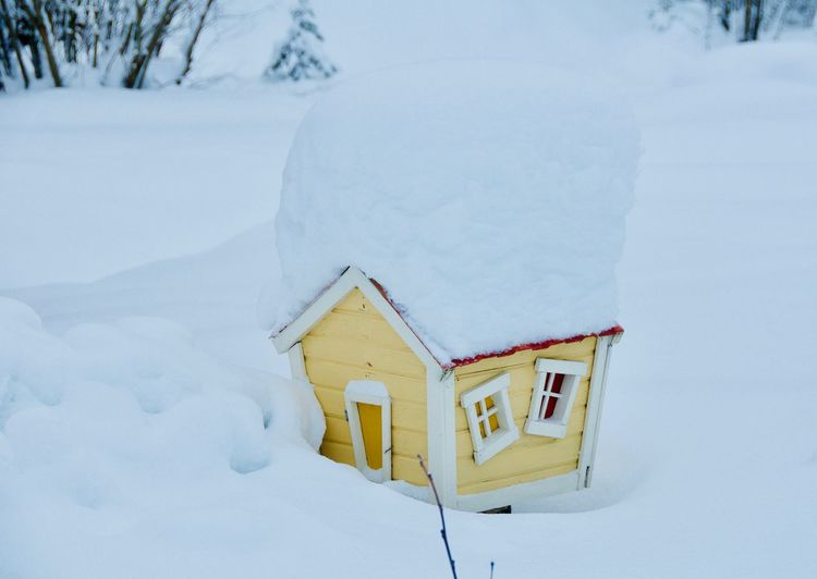Dollhouse Snow Winter Cold Temperature Architecture Built Structure Deep Snow Snowfall Extreme Weather Powder Snow Snowboarding