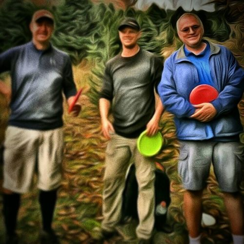 Disc Golfers Disc Golfing TangledFX That's Me