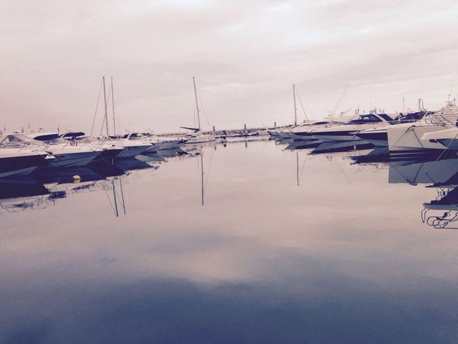 Hanging Out Taking Photos No Filter Puerto Banus SPAIN Water Reflections