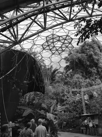 The Eden Project Cornwall Uk