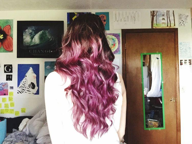 Hair Purple Girl