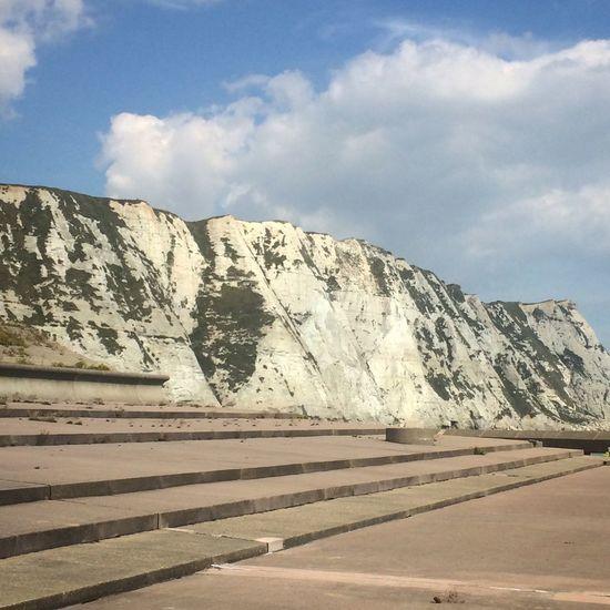 White Cliffs Of Dover The White Cliffs White Cliffs  Samphire Hoe Dover Dover England Cliffs Cliffside Kent Chalk