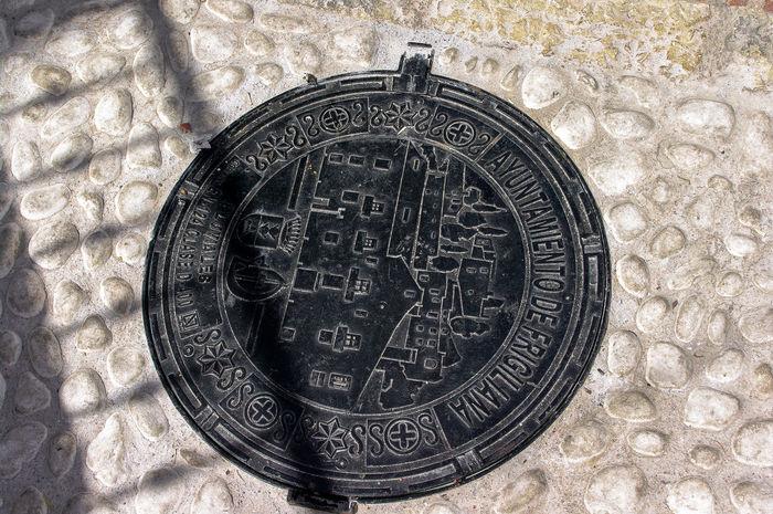 Circle Frigiliana Metal Moulding Objects Pentax Single Object Symbol Travel Traveling