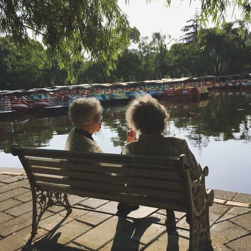 Friendship will never grow old! Vew From My Eyes Sunshine ☀ On The Road Taking Pictures China