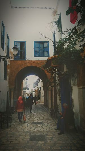 Buildings stay, people come and go. Hanging Out Taking Photos Check This Out Hello World Relaxing Enjoying Life Hi! Discovering Discover Your City Tunisia Urban Walking Around Life People Watching Vintage Beautiful Monumental Buildings View Love Followme