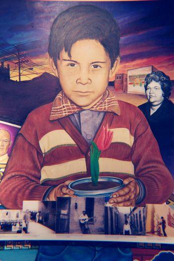 El Paso El Paso Museum Child Border Segundo Barrio Barrio History Frontera Migration Art Graphitti Mural Art Culture