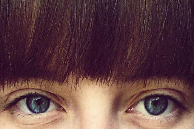 Fashion Hair Blue Eyes Eye4photography  Nomakeup Faces Of EyeEm