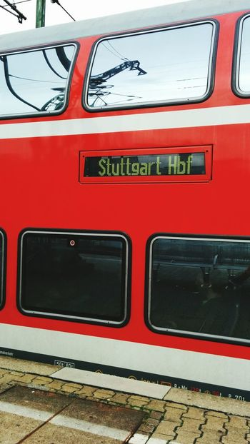 Red Wagons of DB Bahn