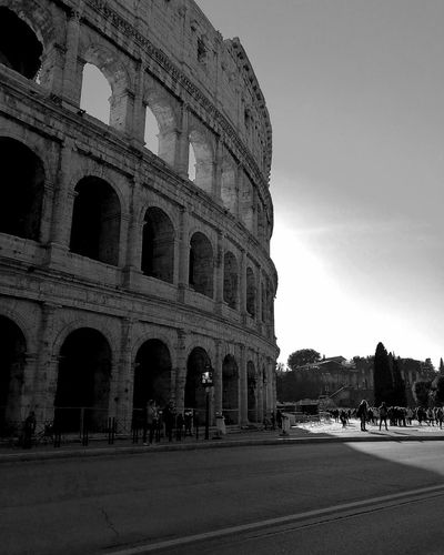 Rome Italy🇮🇹 Colosseum Monochrome City Travel Travel Photography Beauty Moving Around Rome