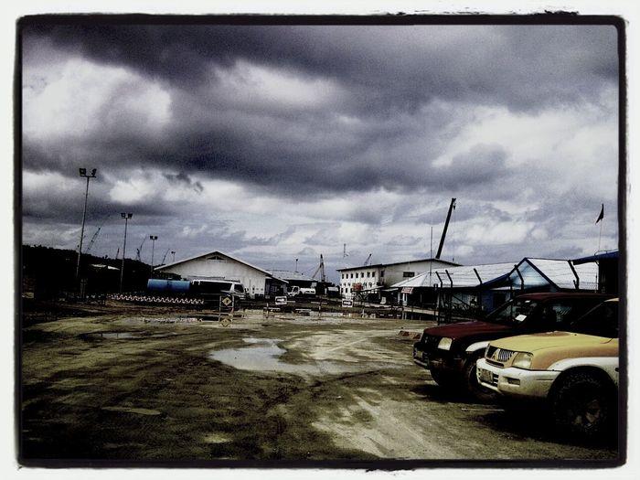 Cloudy Sky Construction Site Justcapture Luwuk