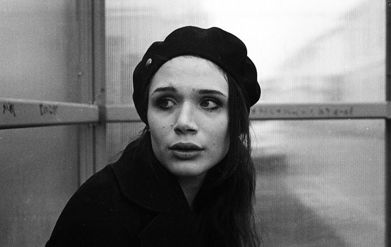 Portrait Model Blackandwhite Black And White Film Film Photography Filmisnotdead Analogue Photography Analog Portrait Young Women Women Close-up Thinking Pensive Day Dreaming
