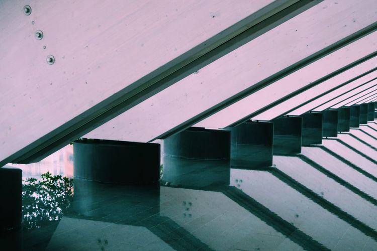 Row of warehouse