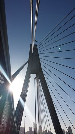 I love ANZAC bridge; so beautiful.ANZAC Bridge Sydney, Australia Ilovesydney Lens Flare Sun Sun