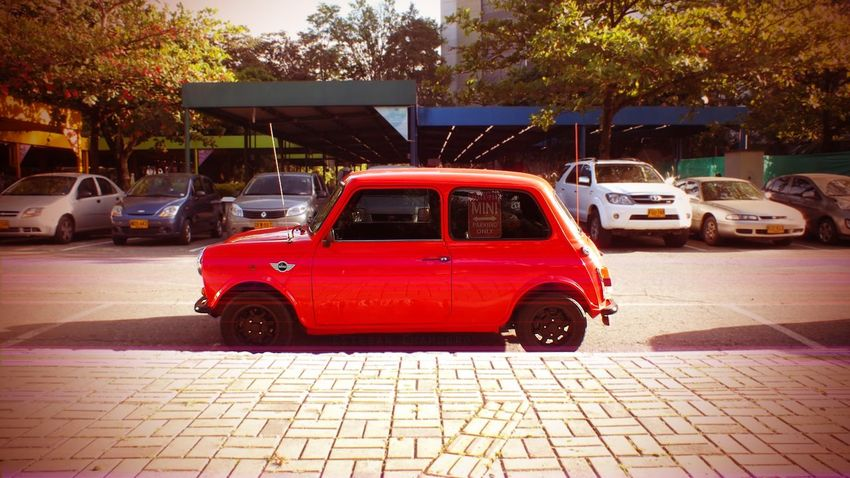 Mini Cooper Mini Car Vintage Photography Red