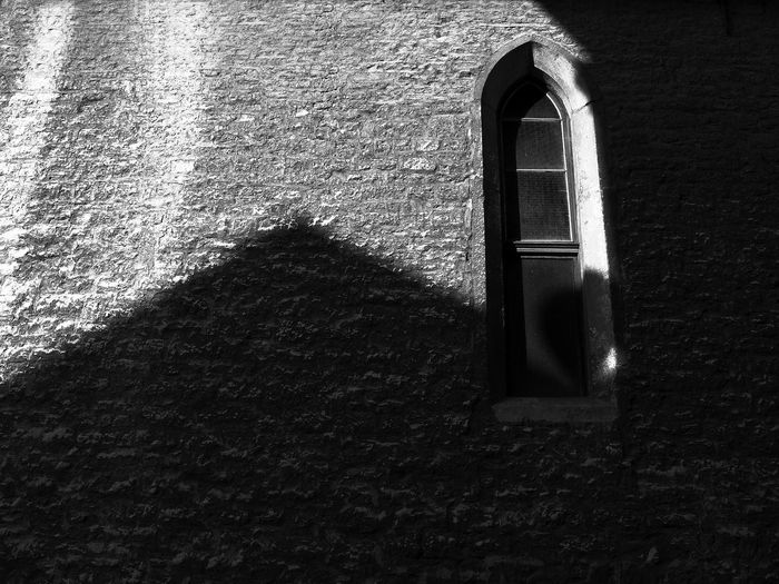 Shadow of window on wall