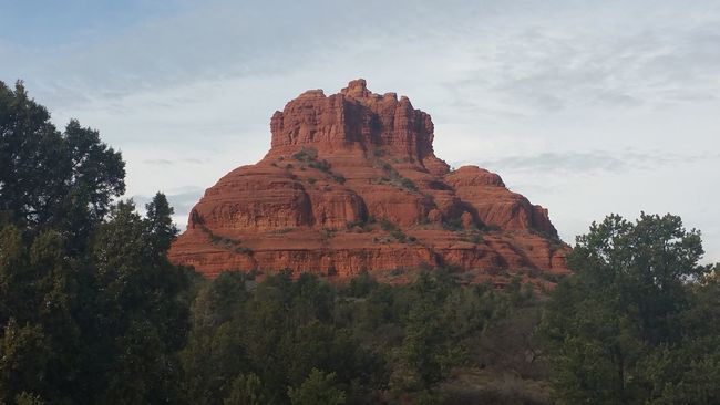 Nature Beauty In Nature No People Outdoors Travel Destinations Day Bell Tower Rock Sedona, Az