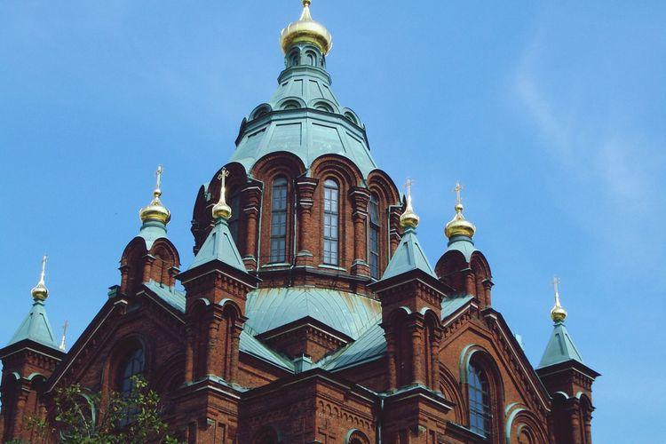 Uspenski Cathedral Against Sky