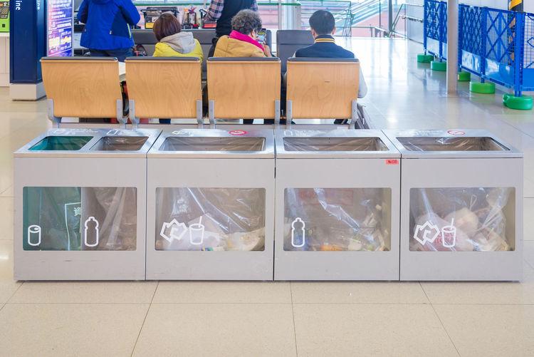 Airport waste
