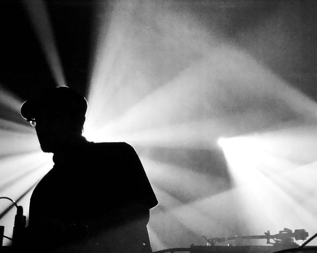 Dj krush Blackandwhite Photography Trip Hop DJ Krush Trix Preformance Silhouette The Portraitist - 2018 EyeEm Awards