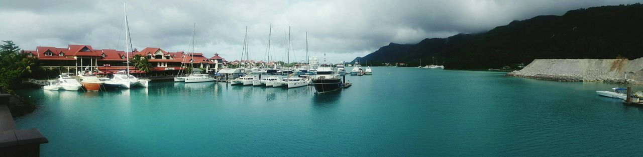 Seychelles Eden Island Harbour Marina Beautiful Sea Blue Awesome