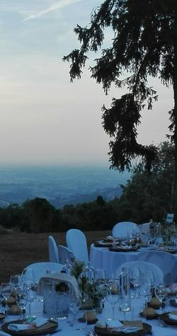 Wedding countryside Landscape Sunset Nature Beauty In Nature Tree Sky Wedding Countryside Hills And Valleys Love Is In The Air Mise En Place Mariage Matrimoniodafavola Matrimonio All'italiana Matrimoniovintage Chic Shabby Chic Lost In The Landscape