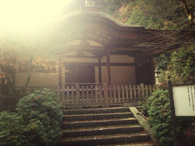 醍醐山頂上には国宝が2つあります。その⑴清瀧宮拝殿