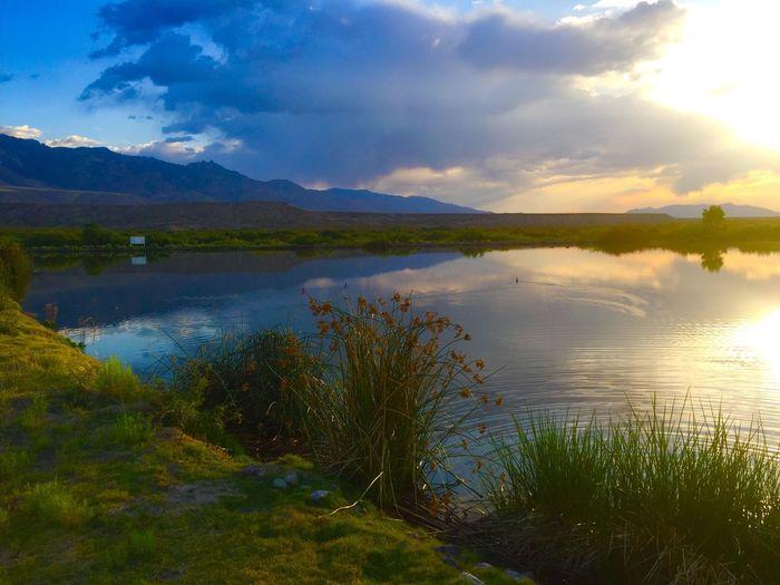 Sunset in Safford Arizona near Mt. Graham Mountains Sunset Safford Arizona Nature