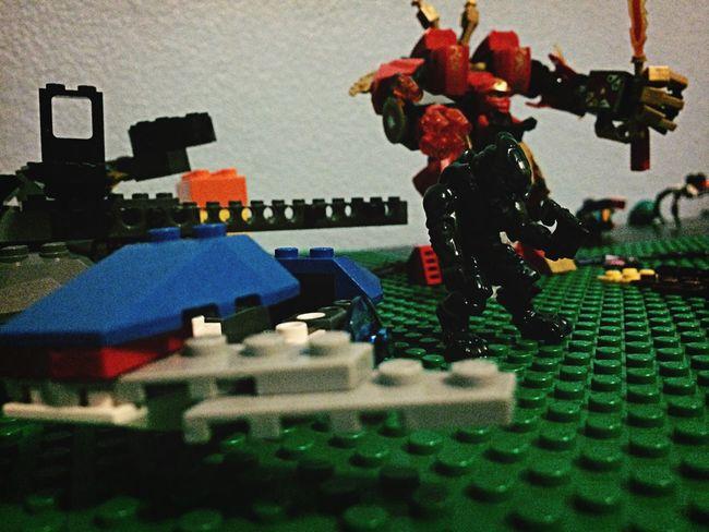 Nephews' legos