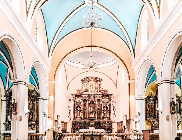 The Architect - 2017 EyeEm Awards Arch Religion Architecture No People History Spirituality Place Of Worship Hanging Baroque Style Day Indoors  City Puerto Rico