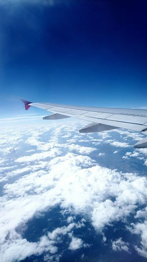 The only limit is YOU! ☀️ ☁️ Myfirstflight Flight Flying Plane Ticket Sky Clouds High ✈ Trip Travel Adventure