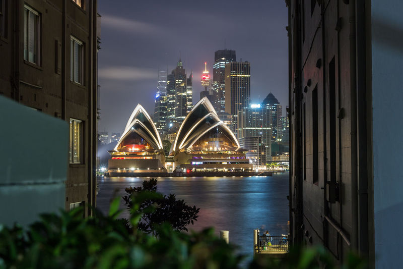 Sydney Opera House at Night from Kirribili Sydney, Australia Sydney Opera House Landscape City Cityscape Urban Skyline Popular Music Concert Illuminated Skyscraper Modern Arts Culture And Entertainment Harbor Sea Grassland Farmland Icon Premiere Lakeside Concert Hall  Waterfront Downtown District Tranquility Tranquil Scene Scenics First Eyeem Photo