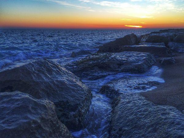 Campomarino Tramonto Spiaggia Sole Mare