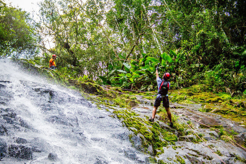 Ecoturismo Meleiro, Brazil Turismo De Aventura Adult Adults Only Adventure Backpack Beauty In Nature Day Ecoturism Extreme Sports Forest Hiking Journey Mountain Nature One Man Only One Person Only Men Outdoors People Real People Travel Tree Young Adult