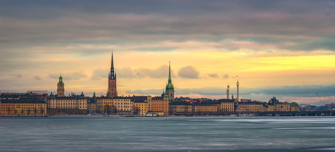 Stockholm, icy