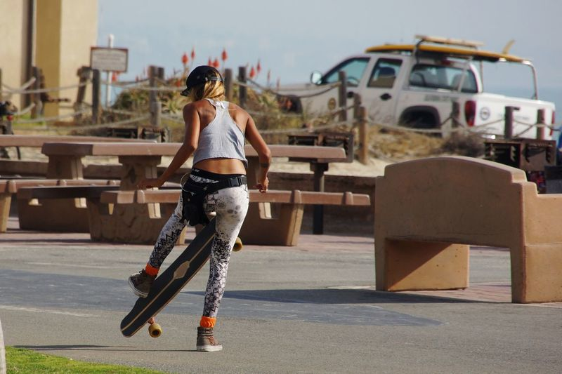 Young Women Sport Sports Clothing City Athlete Exercising Healthy Lifestyle Motion Strength Activity Skateboard Park Skateboard The Art Of Street Photography