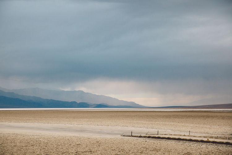 Arid Climate Arid Landscape Badwater Basin Clouds Death Valley Death Valley National Park Death Valley, California Desert Landscape Salt Storm Been There. Lost In The Landscape Been There. California Dreamin